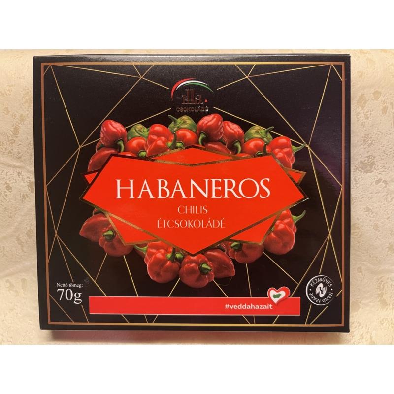 Habaneros Chilis Étcsokoládé