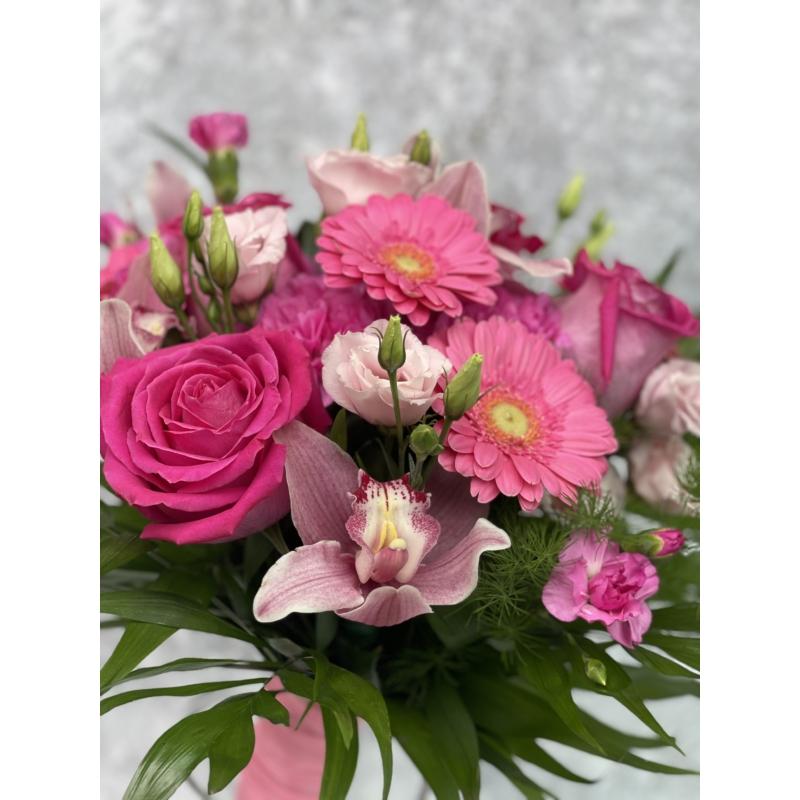 Rózsaszín bokréta